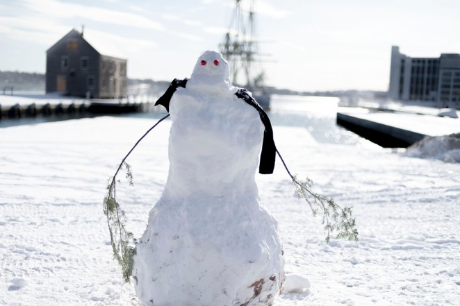 Snow Man, Salem